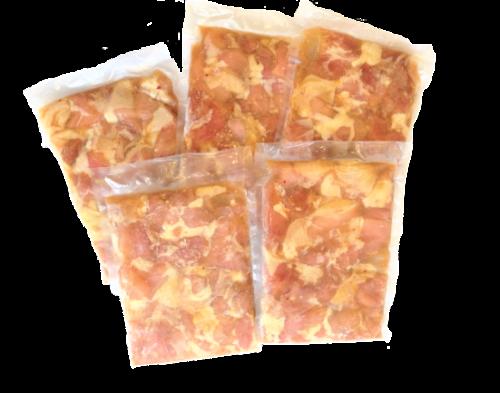 <冷凍> から揚げ用味付き・醤油 500g(5個)