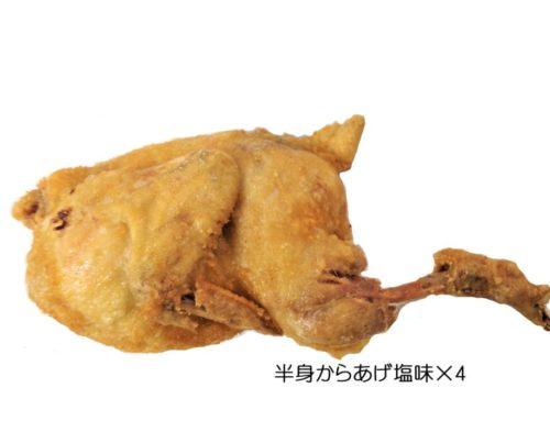 <冷凍> 半身から揚げ・塩味 (4本)