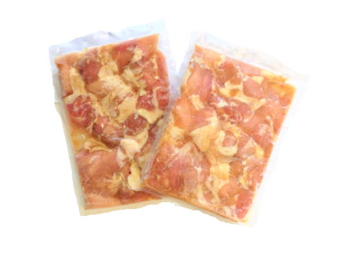 <冷凍> から揚げ用味付き・醤油 500g(2個)